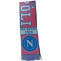 S.S.C. Napoli Sciarpa Azzurro Rosa Stadio Tifoseria Jacquard 1926