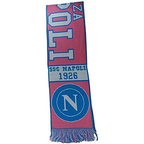 S.S.C Napoli Bufanda Oficial Colección Equipo de Fútbol Jacquard 1926 Rosa