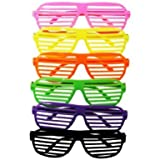 Nerd Clear 12 x Partybrille Atzenbrille Party Brille Atzen Brille