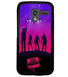 Printvisa Vector Aliens Pic Back Case Cover for Motorola Moto X XT1058::Motorola Moto X (1st Gen)