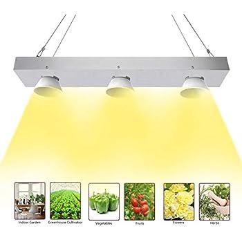 Toplanet 400w Cob Lampe Pour Plante Culture Lentille Led