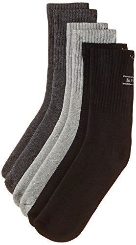 Jockey Men's Socks (Pack of 3) (8901326039144_7035-0310-ASSTD Multi Colour FREE SIZE)