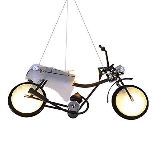 American Style LED Lampenkörper Patch Eisen Industrielle Glasschirm Wind Translucent Kronleuchter Fortschritt der Moto'S Kinderzimmer Dekoration Lampen - Die Beleuchtung der Objekte der Dekoration Lic