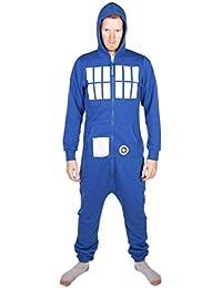 Combinaison unisexe TARDIS Doctor Who bleu