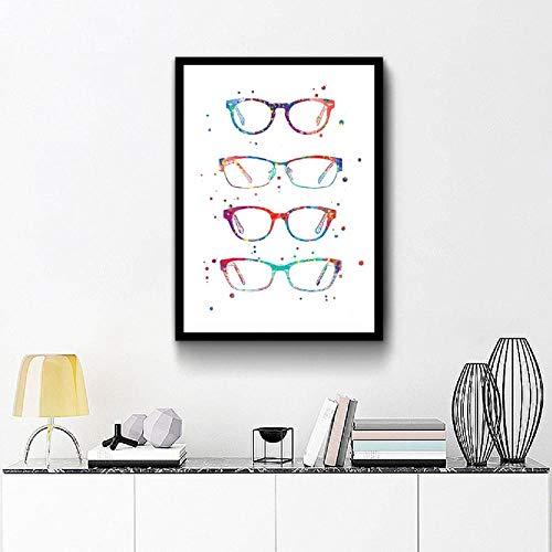 FA LEMON Optometrie Malerei Bild Leinwand Kunstdrucke Und Poster Ophthalmologie Geschenk Wand Decor-50x70cmx1 pcs no Frame
