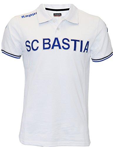 Polo SC Bastia SCB, collezione ufficiale, taglia adulto da uomo,