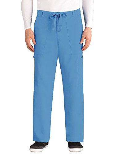 Grey's Anatomy Herren Hose Big 0203 mit 6 Taschen, Reißverschluss - Blau - Groß -