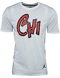 Nike AJ 10 Chicago City Tee - Camiseta de manga corta de la línea Michael Jordan
