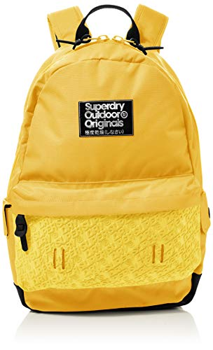 Superdry Damen Neoprene Mirror Montana Rucksack, Gelb (Acid Yellow), 35x20x45 cm