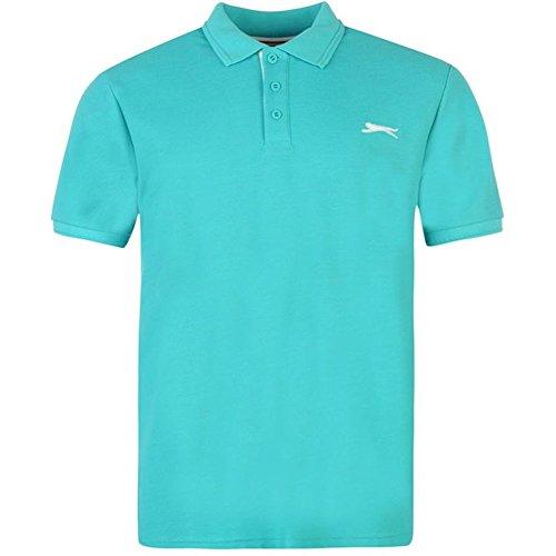 Slazenger Herren Polo Poloshirt 2014, S-4XL Ocean Blue