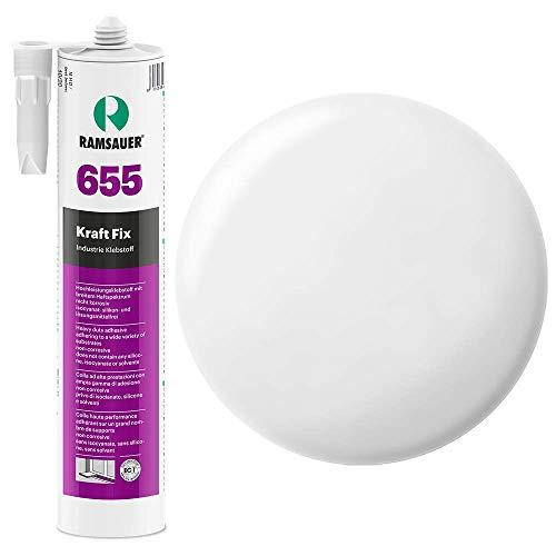 Ramsauer 655 Kraft Fix 1K Hybrid Klebstoff 290ml Kartusche (Weiß) -