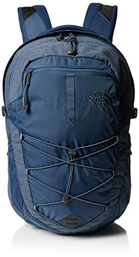 North Face Borealis Sac à Dos Mixte Adulte, Bleu (BIJOU BLUE / ALLIAGE GRIS) 31.1 x 33 cm, 28 Liter