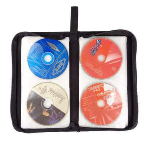 Dandeliondeme logement Portable 80 DVD CD Disc Holder Album étui de Rangement Vide Pliable Sac de Transport Organiseur Home Sac de Portefeuille de Voyage Housse de Transport