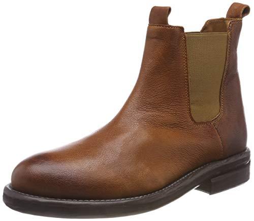 Shabbies Amsterdam Damen SHS0285 Chelsea Boots, Braun (Cognac 3088), 40 EU