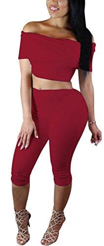sunifsnow-women-solid-2-piece-off-shoulder-knee-length-club-bodycon-jumpsuit-xl