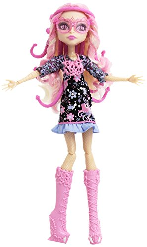 Monster High – blw93 – Puppe – Die Monster High Collection Look Fashion – Viperine Gorgon