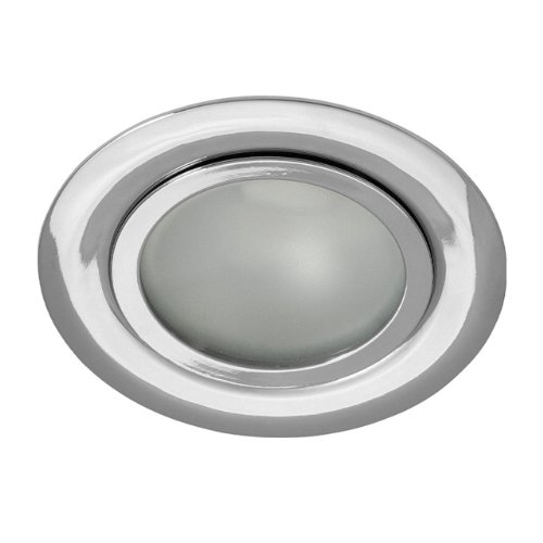 Juego de 3muebles Foco empotrable (lámpara empotrable con satinado frontal para 12V...
