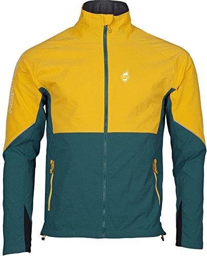 Highpoint da uomo Gale giacca Yellow/Pacific