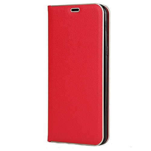 Defender Samsung Galaxy S8 Plus Flip Cover Premium Leather Flip Wallet Case With Card Slot For Samsung Galaxy S8 Plus (red)