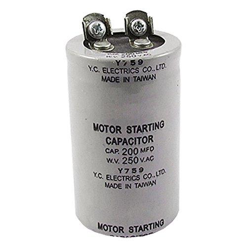 200MFD 200uF AC 250V Screw motor start condensator (250v Motor)