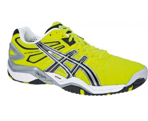 ASICS Limited Edition Gel-Resolution 5 Scarpa da Tennis Uomo Giallo