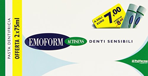 Emoform Actisens - Pasta Dentifricia, Per Denti Sensibili - 150 Ml
