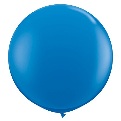 Riesen Raum Kostüm - PARTY DISCOUNT Riesen-Ballon, Ø ca. 90 cm, 1 Stk. dunkelblau