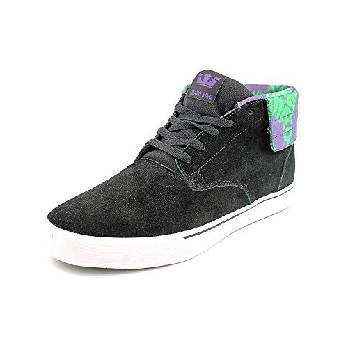 Supra , Herren Skateboardschuhe Black Purple Schwarz