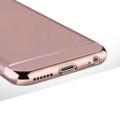 Finoo étui pour téléphone portable sans Sonnerie Iphone - Noir, Iphone 5/5S Or rosé
