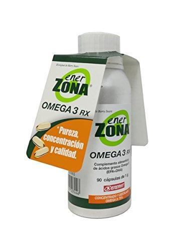OMEGA-3-Öl CAPS ENERZONA 1G Omega Drei Flüssigen