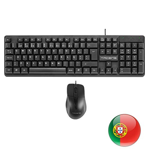 Tacens Anima Spain ACP0PT - Pack ratón Teclado Layout