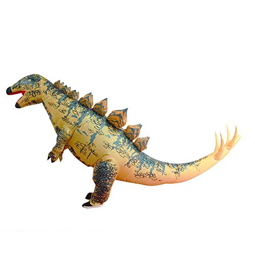 Aufblasbare Stegosaurus Kostüm Blow Up Halloween Weihnachten Karneval Party Supplies - Stegosaurus Kostüm