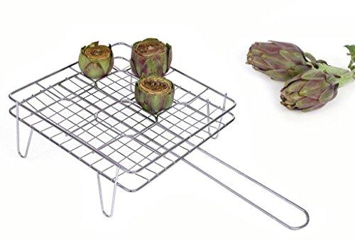 Filtex Grillroste Chrom für Fleisch, Silber, Einheitsgröße -