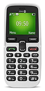 Doro 5030 Easy To Use SIM-Free Mobile Phone - White