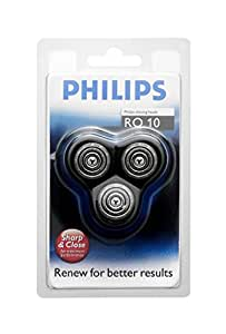 Philips-RQ10/40-Têtes De Rasoir Arcitec- Série 1000- Support Complet 3 Têtes