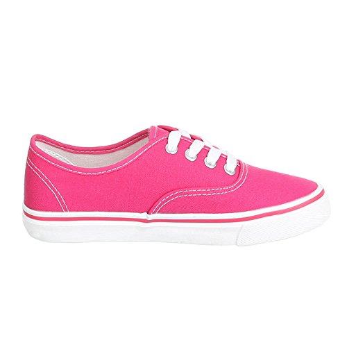 Ital-Design, Sneaker donna Rosa (rosa)