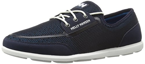 Helly Hansen Trysail, Chaussures bateau homme Prussian Blue/Navy/Off White/Light Grey