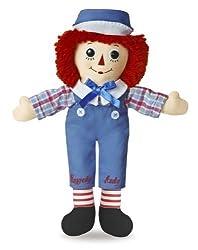 "Raggedy Andy Classic Doll 12"" By Aurora World"