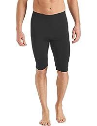 Coolibar Men's Upf 50 Plus Swim Shorts-Black, Size 44/X-Large