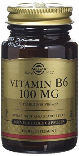 Solgar Vitamina B6-100 Cápsulas