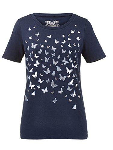 Damen Druckshirt mit Schmetterlingen by KLiNGEL Marine