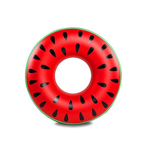 DMGF Riesige Aufblasbare Schwimmer Schwimmring Schnellventile Kreative Wassermelone Schwimmen Beach Party Spielzeug Sommer Outdoor Urlaub Liegen Floats Erwachsene Kinder
