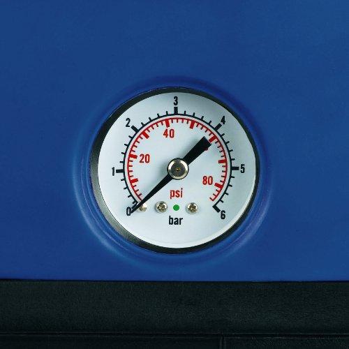Einhell BG-WW 1136 Hauswasserwerk, 1100 Watt, 3600 l/h Fördermenge, 19,2 l Behälter, Edelstahlanschlüsse, Manometer - 5