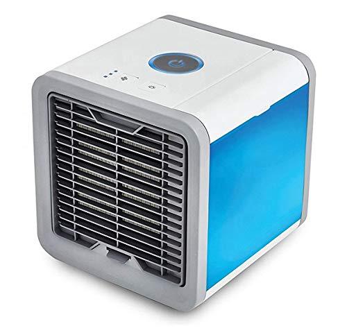 Air Conditioner Desktop tragbarer Mini-Lüfter 2 in 1 Luftkühler Luftbefeuchter Lüfter