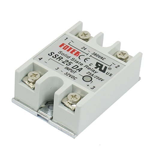 Preisvergleich Produktbild Haobase Control Temperatur Controller AC 24 V-380 V Output Solid State Relais 25 A ssr-25da