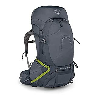 Osprey Atmos AG Men's Backpacking Pack - Abyss Grey (LG)