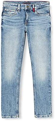 Tommy Hilfiger Steve Slim Tapered Dazdbst Jeans para Niños