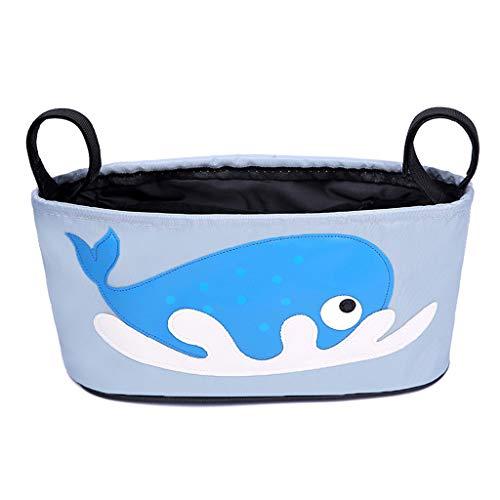 LSAltd Kinderwagen Taschen Aufbewahrungstasche Cartoon Tier hängen Tasche Zubehör