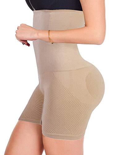 Donge intimo modellante da donna guaina contenitiva a vita alta dimagrante pancera mutanda contenitiva fascia elastica shapewear da donna (beige, xl)