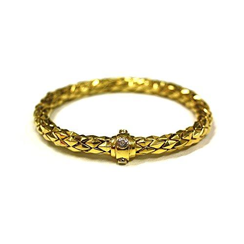 Bracciale donna Chimento Strech oro giallo + diamante 0.03PT 1B00818ZB5200